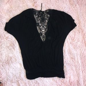 Forever 21 Tops - Ladies plunge front open back top